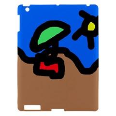 Beach Apple iPad 3/4 Hardshell Case