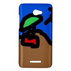 Beach HTC Butterfly X920E Hardshell Case