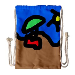 Beach Drawstring Bag (Large)