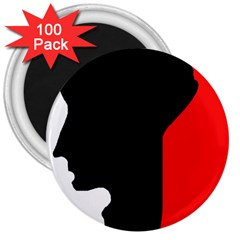 Man 3  Magnets (100 pack)