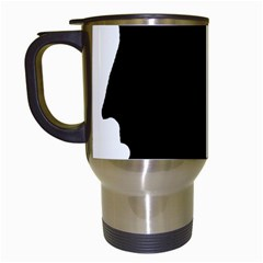 Man Travel Mugs (White)