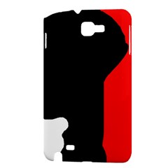 Man Samsung Galaxy Note 1 Hardshell Case