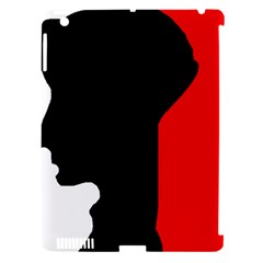 Man Apple iPad 3/4 Hardshell Case (Compatible with Smart Cover)