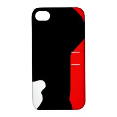 Man Apple iPhone 4/4S Hardshell Case with Stand