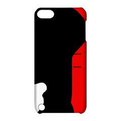Man Apple iPod Touch 5 Hardshell Case with Stand