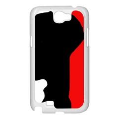Man Samsung Galaxy Note 2 Case (White)