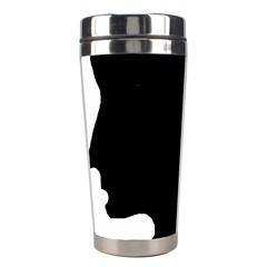 Man Stainless Steel Travel Tumblers