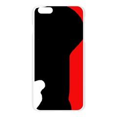 Man Apple Seamless iPhone 6 Plus/6S Plus Case (Transparent)