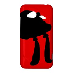 Red and black abstraction HTC Droid Incredible 4G LTE Hardshell Case