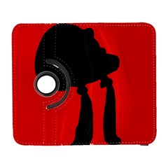 Red and black abstraction Samsung Galaxy S  III Flip 360 Case