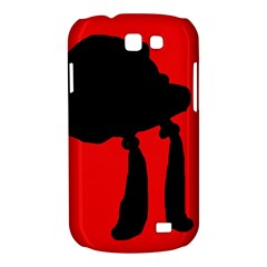 Red and black abstraction Samsung Galaxy Express I8730 Hardshell Case