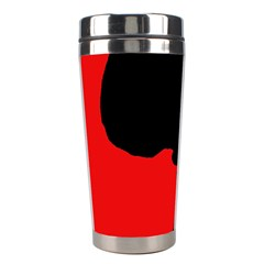 Red and black abstraction Stainless Steel Travel Tumblers