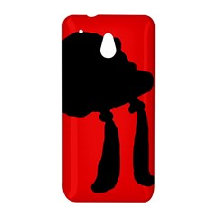Red and black abstraction HTC One Mini (601e) M4 Hardshell Case