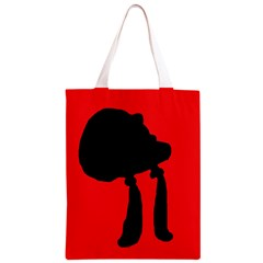 Red and black abstraction Classic Light Tote Bag