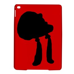 Red and black abstraction iPad Air 2 Hardshell Cases