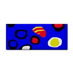 Blue pattern abstraction Hand Towel
