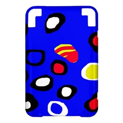 Blue pattern abstraction Kindle 3 Keyboard 3G