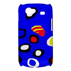 Blue pattern abstraction Samsung Galaxy Nexus S i9020 Hardshell Case