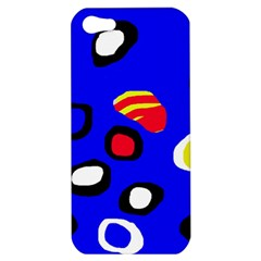 Blue pattern abstraction Apple iPhone 5 Hardshell Case