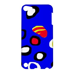Blue pattern abstraction Apple iPod Touch 5 Hardshell Case