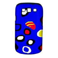 Blue pattern abstraction Samsung Galaxy S III Classic Hardshell Case (PC+Silicone)