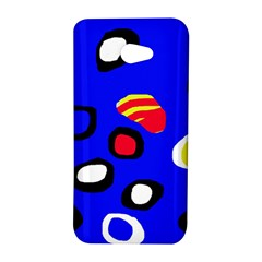 Blue pattern abstraction HTC Butterfly S/HTC 9060 Hardshell Case