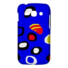Blue pattern abstraction Samsung Galaxy Ace 3 S7272 Hardshell Case