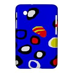 Blue pattern abstraction Samsung Galaxy Tab 2 (7 ) P3100 Hardshell Case
