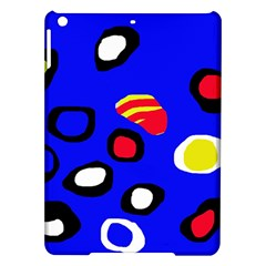 Blue pattern abstraction iPad Air Hardshell Cases