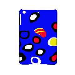 Blue pattern abstraction iPad Mini 2 Hardshell Cases