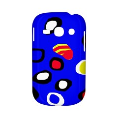 Blue pattern abstraction Samsung Galaxy S6810 Hardshell Case