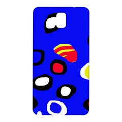 Blue pattern abstraction Samsung Galaxy Note 3 N9005 Hardshell Back Case