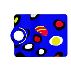 Blue pattern abstraction Kindle Fire HD (2013) Flip 360 Case