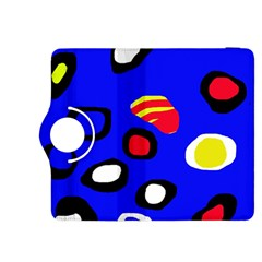 Blue pattern abstraction Kindle Fire HDX 8.9  Flip 360 Case