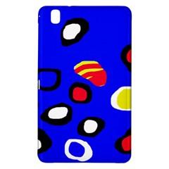 Blue pattern abstraction Samsung Galaxy Tab Pro 8.4 Hardshell Case