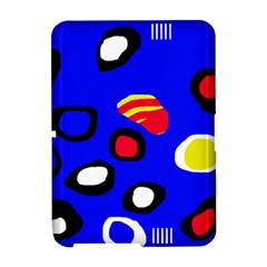Blue pattern abstraction Amazon Kindle Fire (2012) Hardshell Case