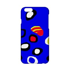 Blue pattern abstraction Apple iPhone 6/6S Hardshell Case