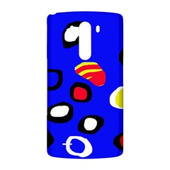 Blue pattern abstraction LG G3 Back Case