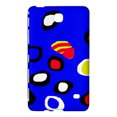 Blue pattern abstraction Samsung Galaxy Tab 4 (8 ) Hardshell Case