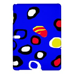 Blue pattern abstraction Samsung Galaxy Tab S (10.5 ) Hardshell Case