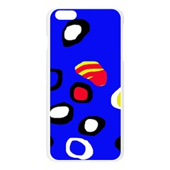 Blue pattern abstraction Apple Seamless iPhone 6 Plus/6S Plus Case (Transparent)