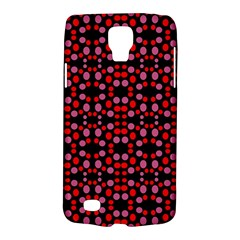 Dots Pattern Red Galaxy S4 Active