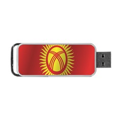 Flag Of Kyrgyzstan Portable USB Flash (Two Sides)