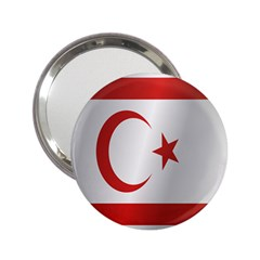 Flag Of Northern Cyprus 2.25  Handbag Mirrors