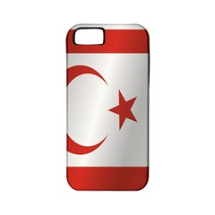 Flag Of Northern Cyprus Apple iPhone 5 Classic Hardshell Case (PC+Silicone)