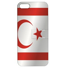 Flag Of Northern Cyprus Apple iPhone 5 Hardshell Case with Stand