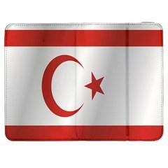 Flag Of Northern Cyprus Samsung Galaxy Tab 7  P1000 Flip Case
