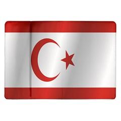 Flag Of Northern Cyprus Samsung Galaxy Tab 10.1  P7500 Flip Case