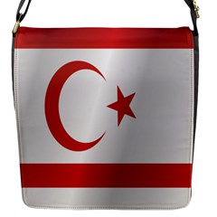 Flag Of Northern Cyprus Flap Messenger Bag (S)