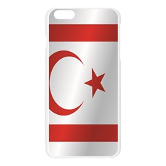 Flag Of Northern Cyprus Apple Seamless iPhone 6 Plus/6S Plus Case (Transparent)